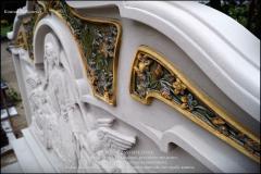 Piekne Niepowtarzalne Artystyczne nagrobki z piaskowca laczony z ceramika C (12)