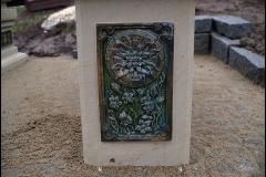 Piekne Niepowtarzalne Artystyczne nagrobki z piaskowca laczony z ceramika C (6)