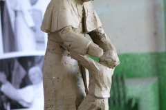 projekt model rzeźby Jana Pawła II
