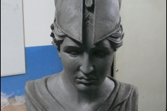 Piekna niepowtarzalna Atena rzezba model z gliny4